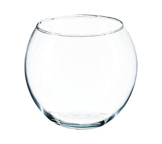 Vase boule H. 15 cm  Verre