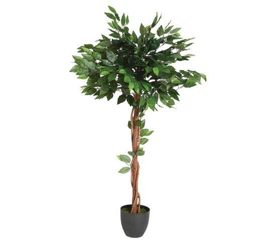 Plante artificielle H120 cm FICUS Vert / Noir