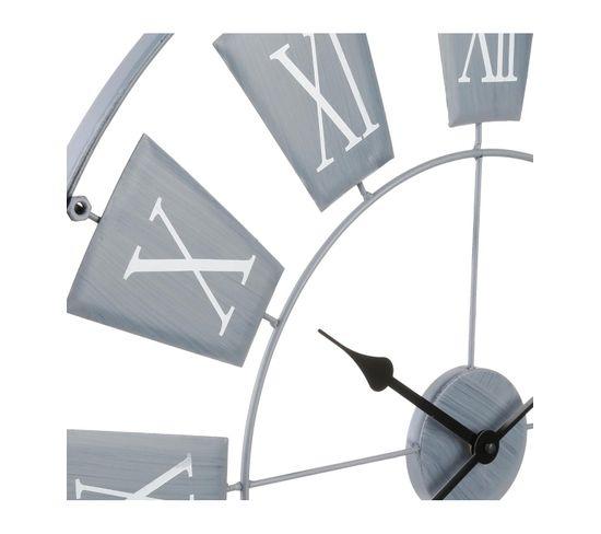 Horloge D.76 cm MET Gris