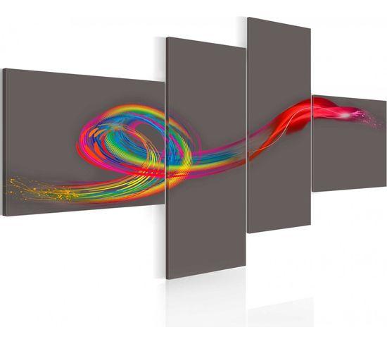 Tableau Murmure Multicolore - 100 X 46 Cm