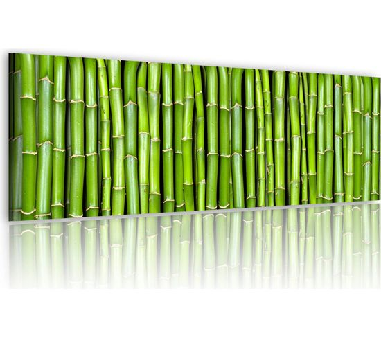 Tableau Bamboo Wall - 120 X 40 Cm
