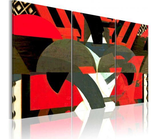 Tableau Formes Abstraites 60 X 40 Cm