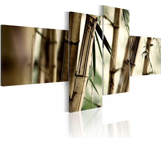 Tableau Inspiration Bambou 100 X 45 Cm