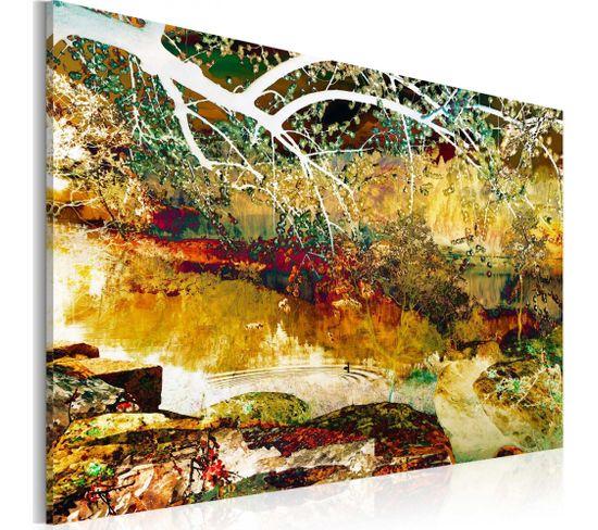 Tableau Parc Abstraction 60 X 40 Cm