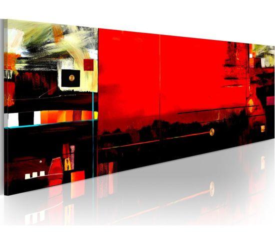 Tableau Panoramique - Cinétique - 120 X 40 Cm