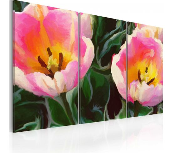 Tableau Blooming Tulips 60 X 40 Cm