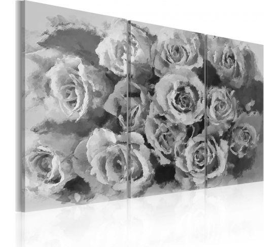 Tableau Douze Roses 120 X 80 Cm