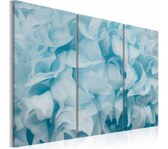 Tableau Azalea En Bleu 60 X 40 Cm