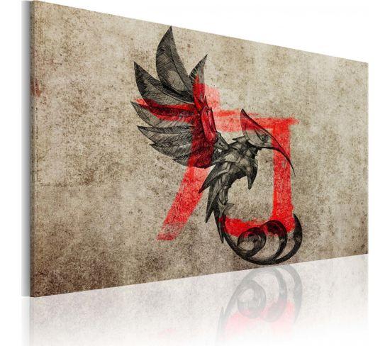Tableau Birth Of The Dragon 90 X 60 Cm