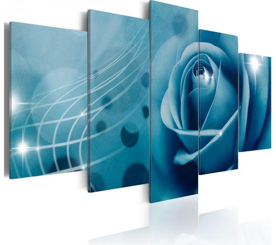 Tableau Beaute Bleue 100 X 50 Cm