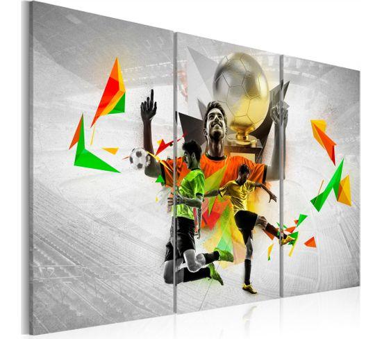 Tableau Rêves De Football 120 X 80 Cm