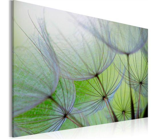 Tableau Dandelion In The Wind 90 X 60 Cm