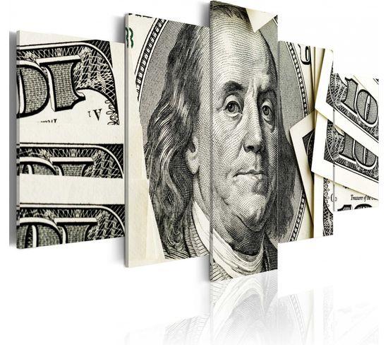 Tableau Benjamin Franklin 200 X 100 Cm
