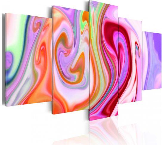 Tableau Pastel Clouds 200 X 100 Cm