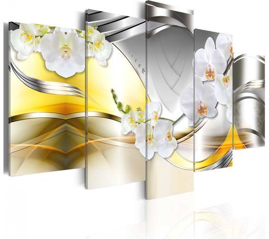 Tableau Flowers Of Future 100 X 50 Cm