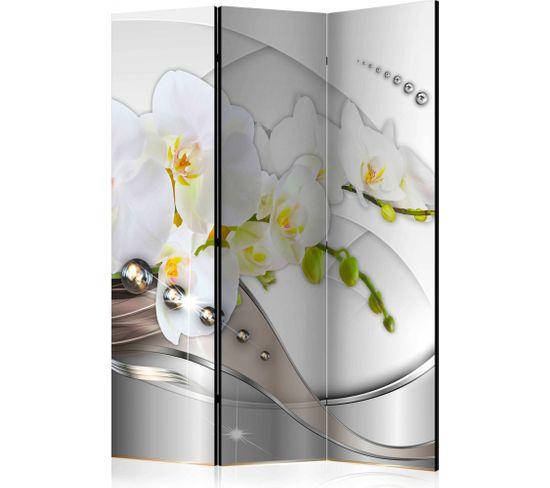 Paravent 3 Volets Pearl Dance Of Orchids