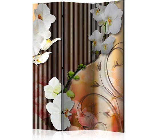 Paravent 3 Volets Orchid