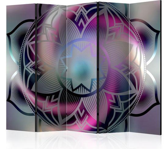 Paravent 5 Volets Flowery Mandala Ii