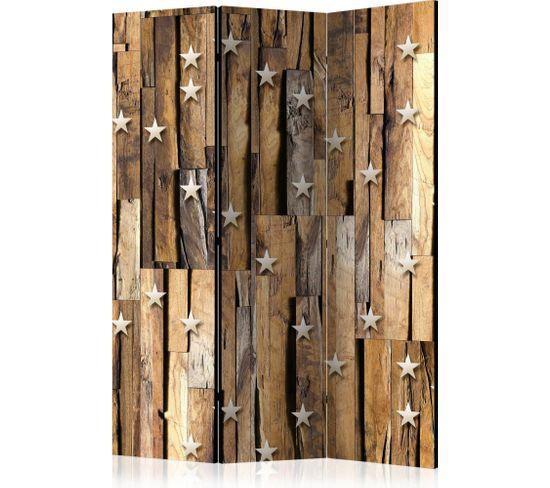Paravent 3 Volets Wooden Constellation