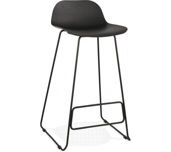 Tabouret De Bar Design Slade Black