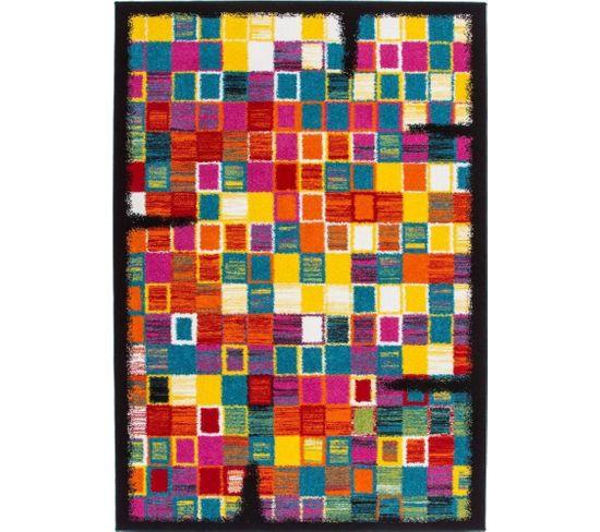 Tapis Tissé Guayama 275 Multicolore 120 X 170 Cm