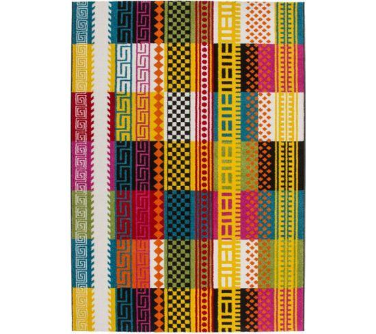 Tapis 285 Multicolore Guayama 80 X 150 Cm