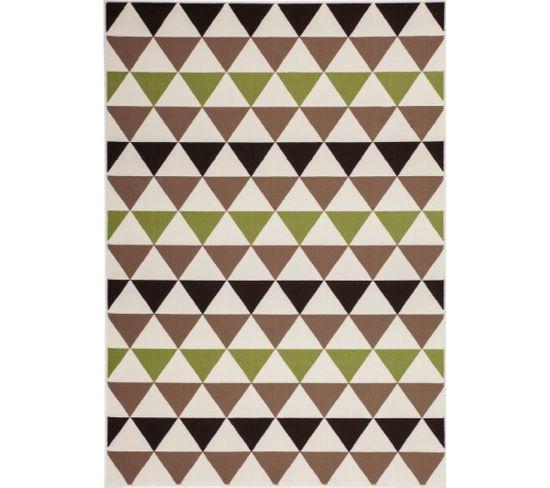 Tapis Tissé Now 800 Multicolore Marron 160 X 230 Cm