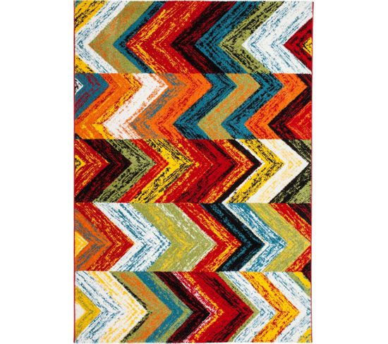 Tapis Tissé Castara 249 Multicolore 80 X 150 Cm