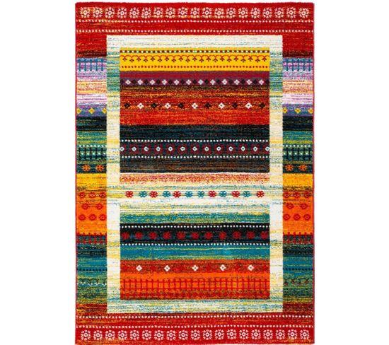 Tapis Tissé Castara 253 Multicolore 200 X 290 Cm
