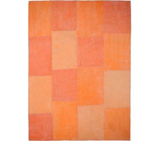 Tapis Fait Main 110 Lyrical Multicolore Orange 160 X 230 Cm