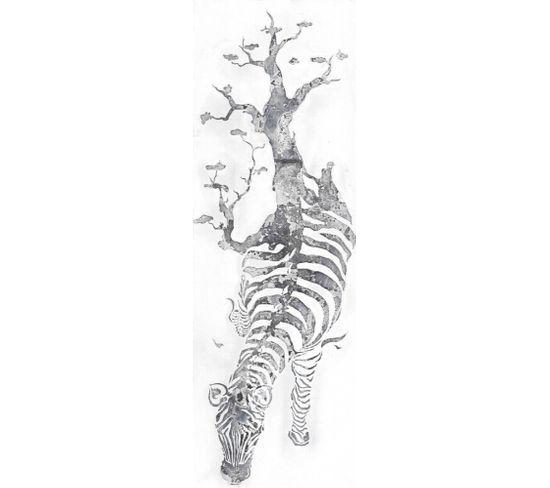 Peinture Sur Toile Huile Serengeti Zebre