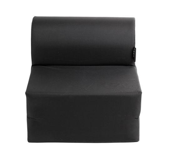 Chauffeuse L.75 cm 2 IN 1 noir