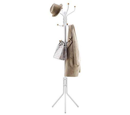 Porte-manteau En Métal Vêtements Chapeau Chapeau Sac À Main