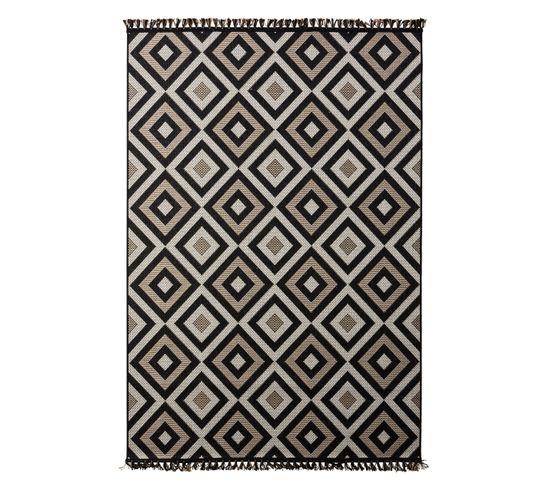 Tapis 120x170 cm VIAGGIO Noir
