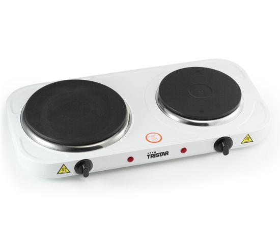 Réchaud électrique TRISTAR KP-6245 blanc